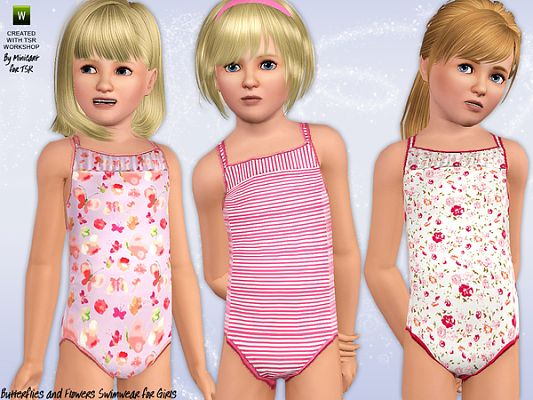 Sims 3 swim, swimwear, clothing