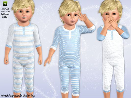 Sims 3 outfit, fashion, clothing, toddler, sleepsuit