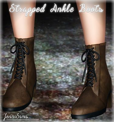 Sims 3 boots, shoes, footwear