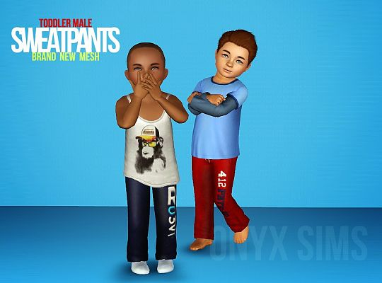 Sims 3 top, clothes, fashion, males, pants
