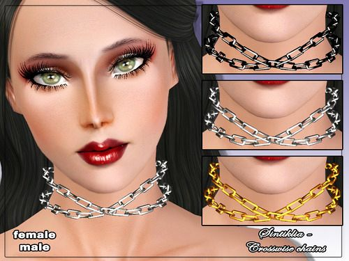 Sims 3 jewelry, accessory, necklace
