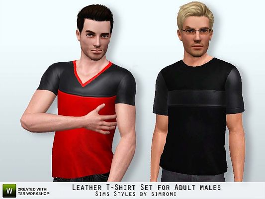 Sims 3 outfit, clothing, male, t-shirt, top