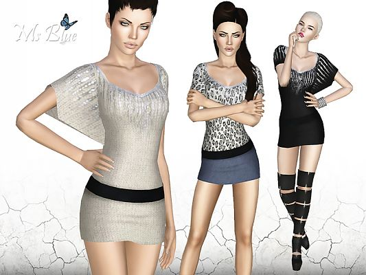 Sims 3 outfit, fashion, clothing, female, dress, sims3