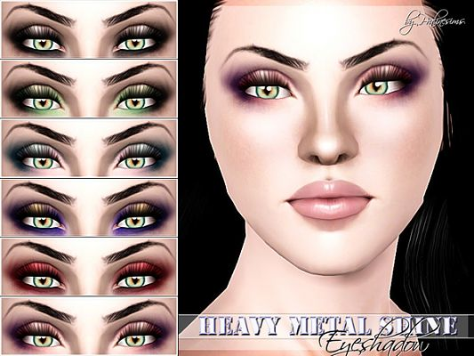 Sims 3 eye, eyeshadow, makeup