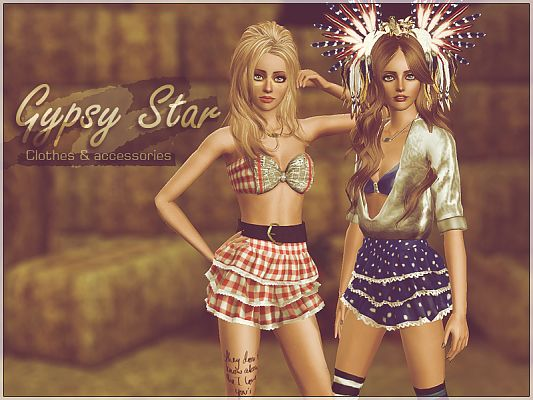 Sims 3 skirt, clothing, clothes, accessory