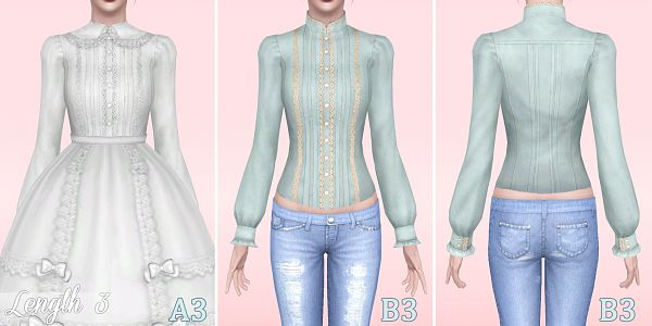 Sims 3 outfit, clothing, fashion, female, sims3