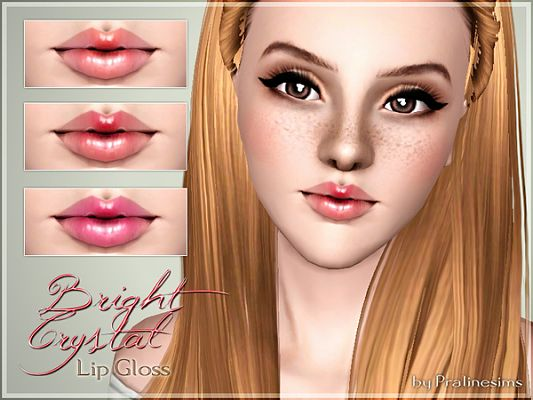 Sims 3 lip, gloss, makeup, balm, lipstick