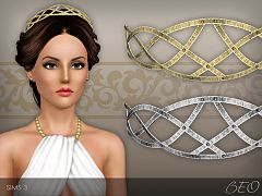 Sims 3 headband, headwear, jewelry, accessories