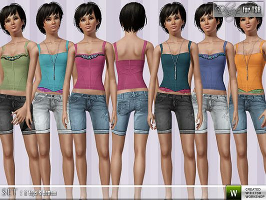 Sims 3 cloth, clothes, fashion, outfits
