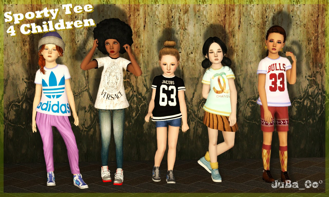 Sims 3 Updates - Downloads / Fashion / Clothing / Male / Child ...