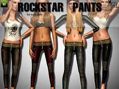 Sims 3 outfit, fashion, clothing, female, pants