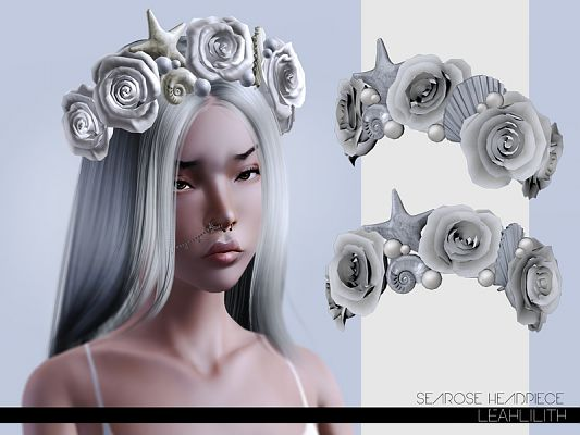 Sims 3 accessories, diadems, headwear, sims3