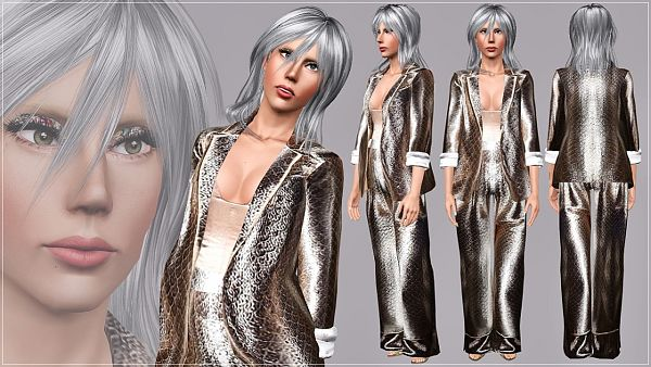 Sims 3 suit, outfit