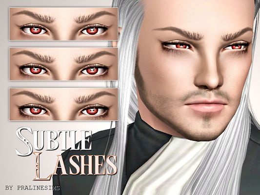 Sims 3 lashes, makeup