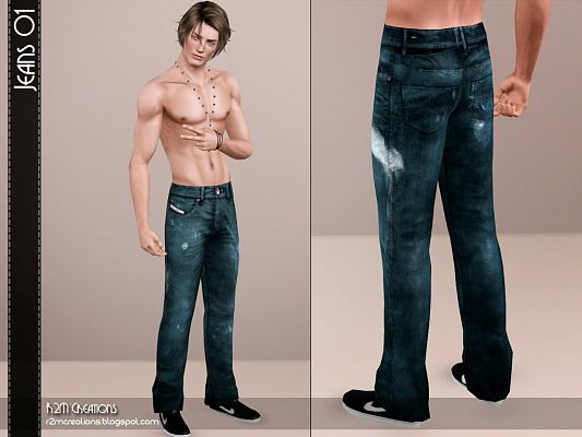 Sims 3 jeans, denim, pants, fashion