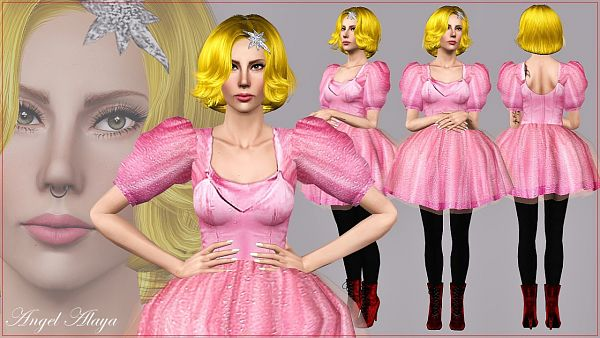Sims 3 dress, outfit, costume