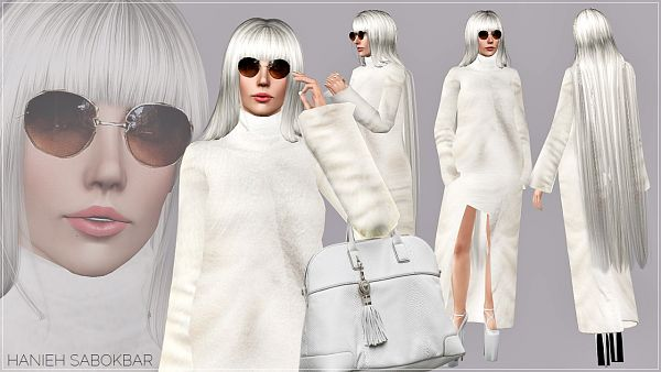 Sims 3 coat, outfit