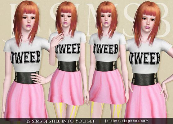 Sims 3 outfit, costume