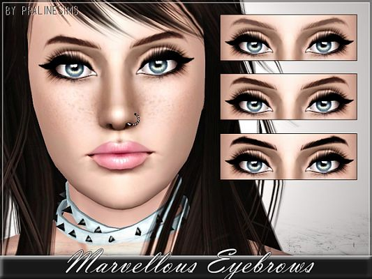 Sims 3 eyebrows, brows