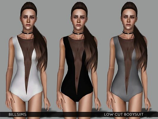 Sims 3 outfit, bodysuit