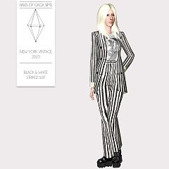 Sims 3 outfit, costume, suit