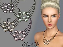 Sims 3 necklace, jewelry, accessory