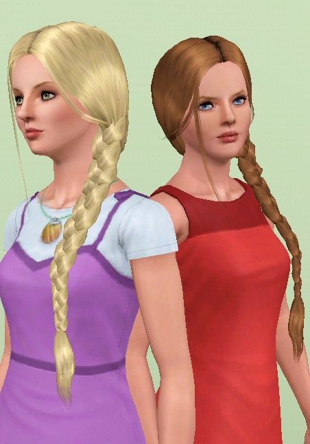 Surprising Sims 3 Updates Mod The Sims Nouk Side Braid Conversion All Short Hairstyles For Black Women Fulllsitofus