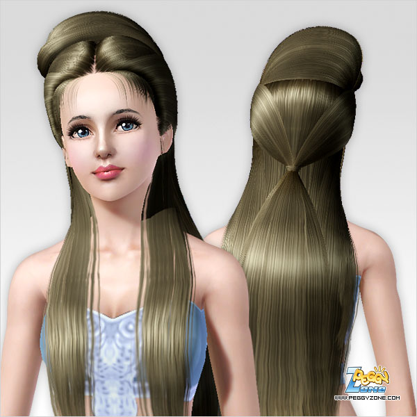 how to make sims 3 hair