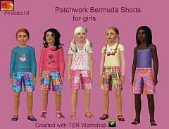 Sims 3 cloth, clothes, fashion, girl, pants, shorts