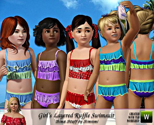 Sims 3 Cloth Clothes Child