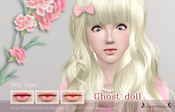 Sims 3 Lips Makeup Blush