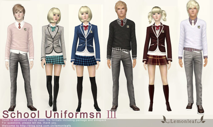 Sims 3 long dress ex