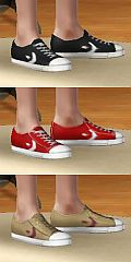 Sims 3 converse, shoes