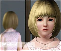 Sims 3 face, mask, skintone, genetics