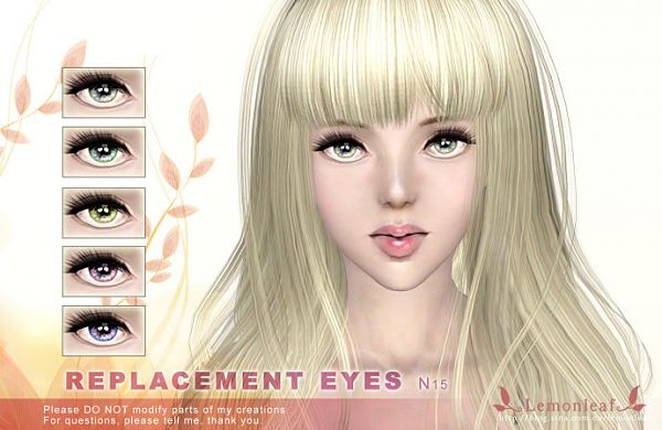 Sims 3 eyes, genetics