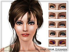 Sims 3 eyeshadow, makeup, fashion, female