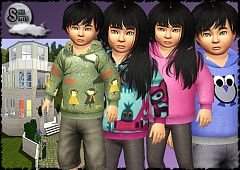 Sims 3 hoodies, top, fashion, clothes, toodler