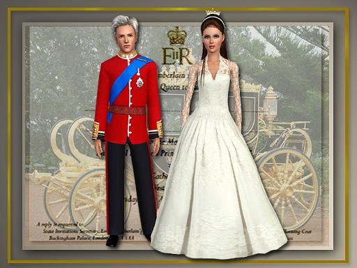 Одежда Для Симс 3 Свадебные Платья