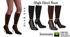 Sims 3 high heel, shoes, boots, fashion, female