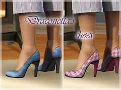 Sims 3 shoes, pumps