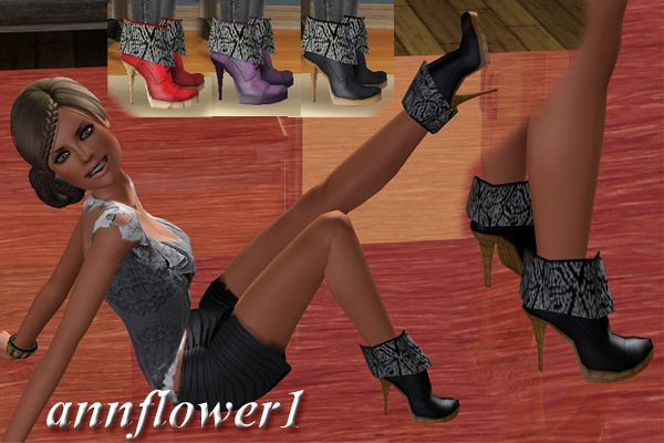 Sims 3 shoes, high heels, female