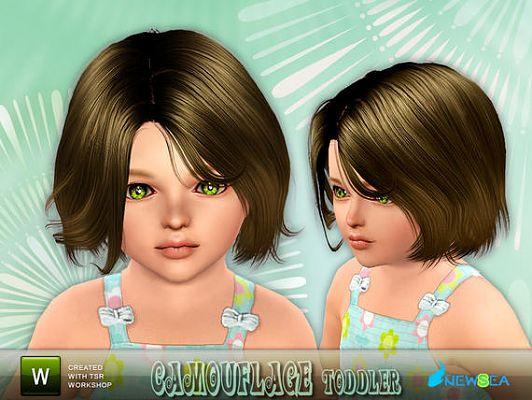Симс 3 причёски и мебель