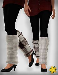 Sims 3 leg, warmers, accessories, female