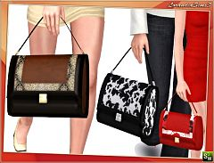 Sims 3 bag, accessories, female