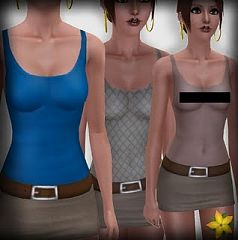 Sims 3 cloth, clothes, fashion, top