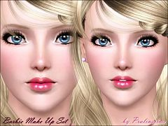 Sims 3 lips, lipstick, makeup, gloss, contact, lenses