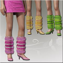 Sims 3 shoes, gaiter