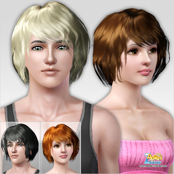 short female hair sims 3 sims 3 updates downloads fashion