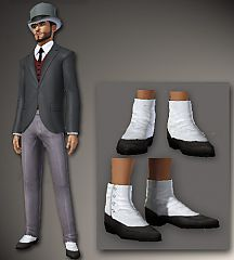 Sims 3 shoes, victorian, male