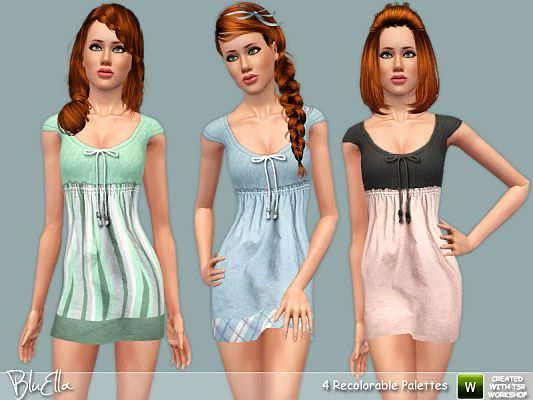 Sims 3 summer dress cheap